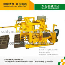light white brick making machine QT40-3A concrete hollow block machine