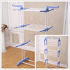 3 Layer Powder Coated Clothes Hanger Drying Rack, Portable Cloth Dryer