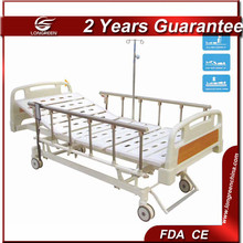 CE approved three function electric memory foam adjustable beds