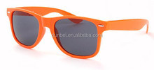 logo print mens orange frame sunglasses