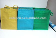 2011 new plastic tote bag PP woven garbage classification bag