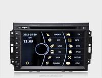 "PENHUI 8"" Car DVD for Jeep Compass (2004-2008) Support Bluetooth+ Phonebook+SWC+ATV+Ipod+RDS+Visuc 8 disc"