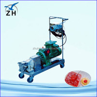 lubrication system zyl84wd twin lobes rotary vacuum roots blower(manufacture)