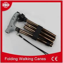 OEM ODM factory Outdoor Adjustable Easy Folding making walking sticks and canes
