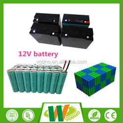 Long life cycle 12V Lifepo4 rechargeable battery, lithium ion battery pack
