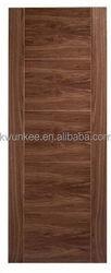 Good quality stylish flush veneer solid teak wood door price