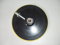 abrasive backing pad used with sandpaper