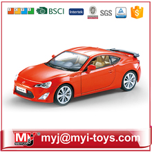 HJ019524 stationery gift set 1/34 die cast toy car