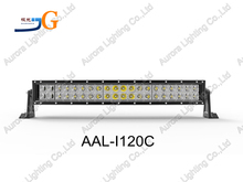 10.5inch 72W curved light bar tractor curved roof light bar roller curved bar light AAL-I120C