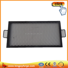 Garden excellent quality rectangle steel easily cleaned grill
