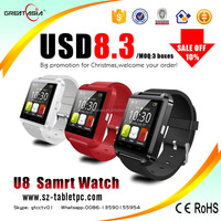 2015 Lastest Mobile GSM Watch Phone