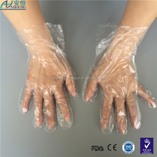 Daily home use products disposable poly gloves economical protecti with different gram weight pe glove Hospital disposable glove