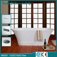 Price competitive high quality stone resin bathtub