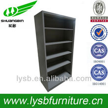 modern design metal bookcase with shelves