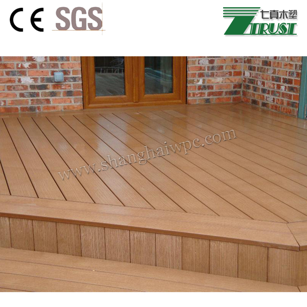 Flame Resistant Flooring : Fire resistant wood plastic composite decking wpc flooring