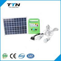 TTN-SG1210W Best Sale Protable 10W Solar Panel Kits
