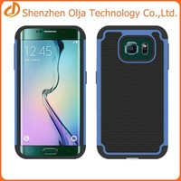 silicon+pc+tpu case for samsung galaxy s6,mobile phone 3 in 1 case for samsung galaxy s6