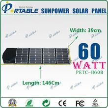 Fashionable elegance 60W sunpower solar panel direct buying india