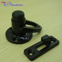 Good quality black color wall mounted door holders , glass shower door holder