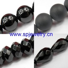 matte black onyx beads, round 2-18mm for choice