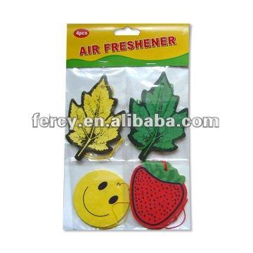 Promozionali carta deodorantiperautod'aria