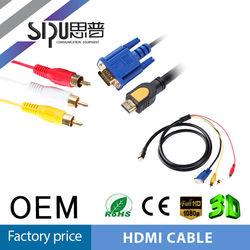 SIPU Best price Hot sale s-video vga rca to hdmi converter mini hdmi vga rca