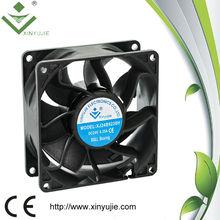 92*92*38mm ac cooling fan 12V water fan IP67 0.10A mini air blower fan