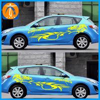 Waterproof custom car sticker, decal window sticker, body wrap sticker