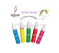 Plant & fruit formula temporary organic hair color spray