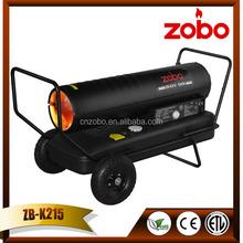 63KW Black Industrial Diesel Space Heater