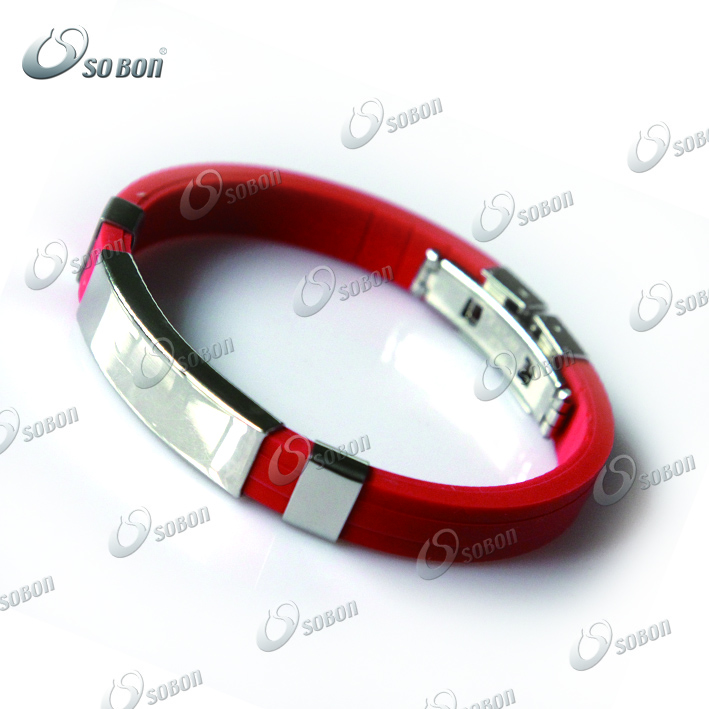 2015 Christmas Ornaments Gift Custom Silicone Wristband ...