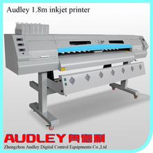 Audley large format 1.6m 1.9m dx5 inkjet printer for sale