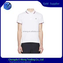 New Trendy Button up Polo-neck Men T-shirt Clothing for Men