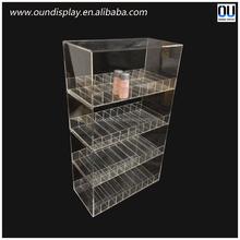 replaceable head e cig clearomizer display case acrylic plexiglass