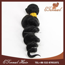 8a grade virgin brazilian loose wave hair no tangle no shed hair weave