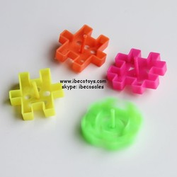 Wholesale plastic toy top, cheap mini toys top for kids