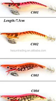 In stock Sea fishing luminous lures ,gear for Squid, cuttlefish