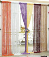 elegant living room curtain with sequins