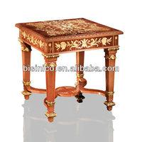 Bisini Furniture-Purely Handmade Antique Corner Table Square