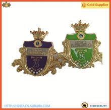 Wholesale Metal Custom Different Enamel Color 3d Royal Crown for Pins