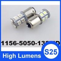 DC 12V 13SMD 5050 S25 auto car light 12v 24v led light auto