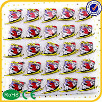 Low Price High quality custom plastic pins round badges