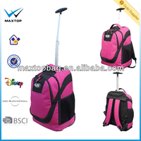 Fashion Sport Polyester Laptop Backpack Single Trolley Bag