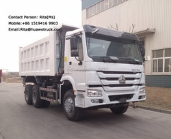 Building Construction Tools 20 Ton Tipper Trucks for Sale