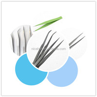 Best Quality Stainless-steel Eyelash Extension Tweezers Most Thinnest & Most Pointy With Custom Logo & Colors