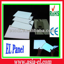 Best selling soft light A4 size el backlight for decoration