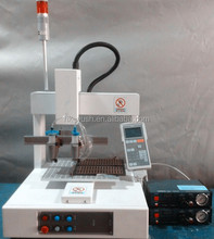 Automatic 3 axis epoxy glue dispensing robots with CE marked . glue dispenser