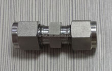 Union connector, tube fitting, stainless steel fitting