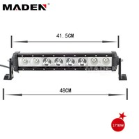 80w Led Track Lighting Bar 6000k For Off Road Suv Atvs 4x4 MD-8102-80
