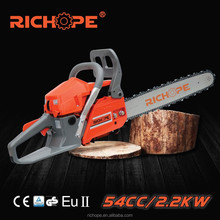Hot sale gasoline chain saw china used portable sawmill for garden tools